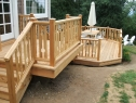 Keyhole Balustrade and Re-deck.